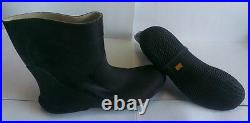 Scuba Diving Dry Suit Rubber Boots with a cotton lining