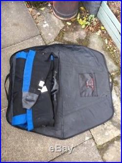 Scuba Diving Dry Suit Seac Sub, blue + black, boot size 12, body XXL