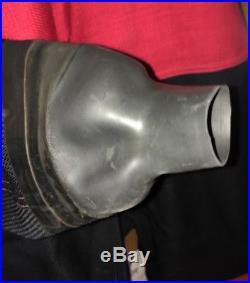 Scuba Diving Dry Suit Size M & 10 Boot