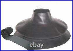 Scuba Diving Dry Suit Small Bellows Neck Seal & Bottle Wrist Seal With Tape