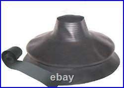 Scuba Diving Dry Suit Small Bellows Neck Seal With Tape