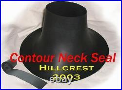 Scuba Diving Dry Suit Small Contour Neck & Cone Wrist Seal (includes Tape)
