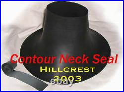 Scuba Diving Dry Suit Small Contour Neck Seal With Tape