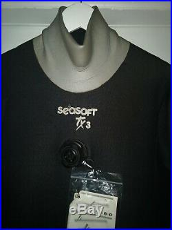 Scuba Diving Dry Suit with Undergarments NEW TX3 Seasoft
