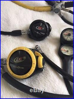 Scuba Diving Equipment (Job Lot) Complete Set for Dry Suit Divers