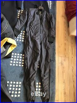 Scuba Diving Equipment, L Aquion Pro Membrane Dry Suit Bundle