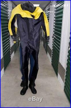 Scuba Diving Membrane Dry Suit nealy new, excellent condition, shoulder zip