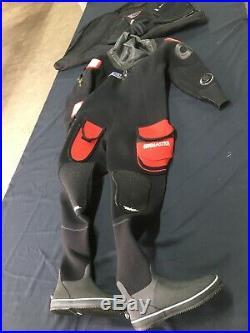 Scuba Diving Northern Diver Divemaster Dry suit Ladies XL