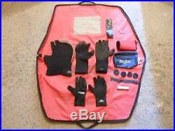 Scuba Diving Northern Diver Divemaster Neoprene Drysuit Size M-Large-R Boot 10