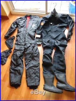Scuba Diving Suit Otter Britannic membrane with under-suit & thermal socks