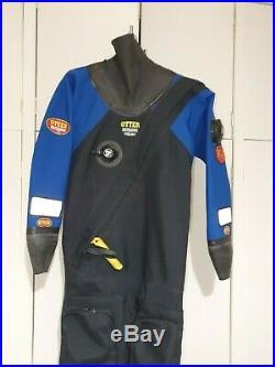 Scuba Diving drysuit, Otter Britannic Super Skin, Size medium Tall