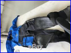 Scuba Dry Suit By Scubapro Drynflex 2000 Ladies M, Used Once 187573a