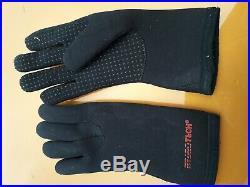 Scuba Dry Suit Polar Bear Size L10 Model Boot Size 10, Neck Size M, Cuff Size L