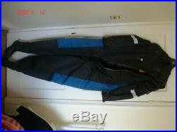 Scuba Dry Suit Polar Bear Size M-T-M Boot Size 8.5 Neck Size M, Cuff Size L
