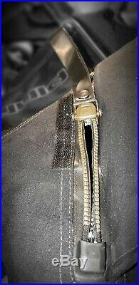 Scuba Drysuit Pinnacle MENS XXL Black Blue
