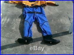 Scuba Gear / OS System Dry Suit Front Entry / Factory Certified with New Seals