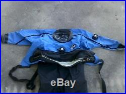 Scuba Gear / OS System Dry Suit Front Entry /Hard sole boots