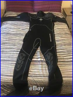 Scuba Pro Exodry mens 3xl drysuit, hood, hose, undersuit and bag