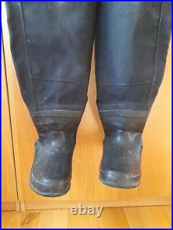 Scuba diving Otter Skin dry suit size medium, 7/8 boot see full description
