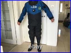 Scuba diving dry suit Azdry Make