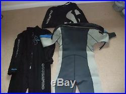 Scuba diving dry suit, Scubapro Everdry 4 + bag + Subapro Climatic fleece Large