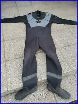 Scuba diving dry suit Typhoon Seamaster 3 excellent condition