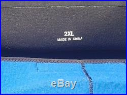 Scuba diving dry suit and under suit and carry bag