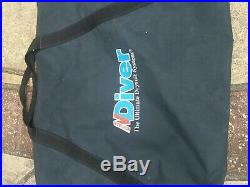 Scuba diving dry suit size M shoe size UK 8