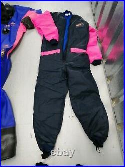 Scuba diving dry suit undersuit