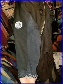Scuba diving drysuit dry suit DUI CLX 450 Marked Size XL