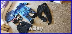Scuba diving drysuit otter front entry