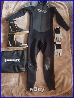 Scuba diving equipment Watersport Dry Suit Excellent Condition not Rips or Tears