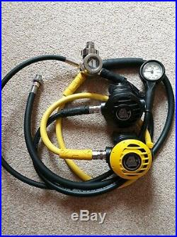 Scuba diving equipment, mares dive computer, Dry suit, cylinders, TAKE A LOOK