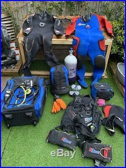 Scuba diving kit