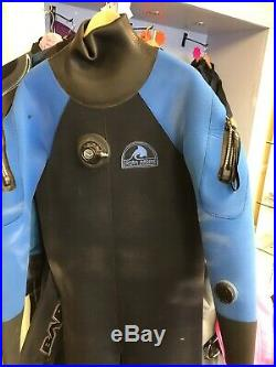 Scuba dry Suits. Mixed Type, Sizes & Condition. Job Lot Of 6