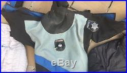 Scuba drysuit and undersuit