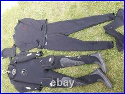 Scuba waterproof dry suit (antartic 2000)