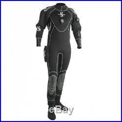 Scubapro Everdry 4 Men's Scuba Dive Drysuit (black) XL