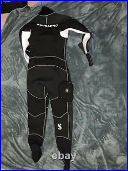 Scubapro Everdry 4mm Neoprene X-Large Drysuit Cold Water Scuba Diving Gear