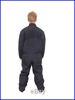 Scubapro Men X-large Dry Suit Undergarment Scuba Diving or Snorkeling Black