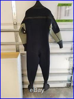 Sea Elite Scuba Diving Drysuit withp-valve SIZE XXL