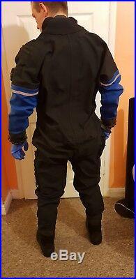 Sea Skin Scuba Diving Dry Suit Front Entry