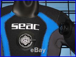 Seac Women's Dry-Plus scuba diving drysuit size L