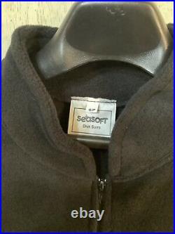 Seasoft Fleece Drysuit Insulation Interior Suit Size Small for SCUBA Diving S