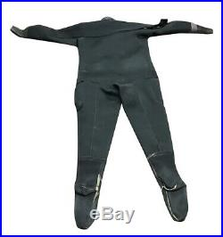 Seasoft Ti 3000 Neoprene Drysuit for Cold Water Scuba Diving with Pocket Large