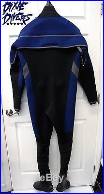 Sopras Sub 5.5mm Drysuit Size Ml/s 7 Boots Scuba Diving Cold Water Technical