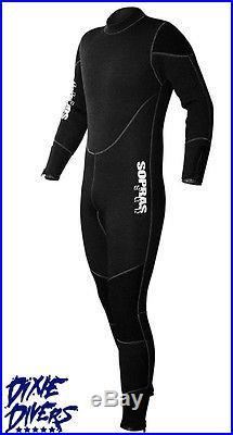 Sopras Sub NEW FREDDO 7mm 2 Piece Hooded Wetsuit SCUBA DIVE DIVING SEMI DRY SUIT