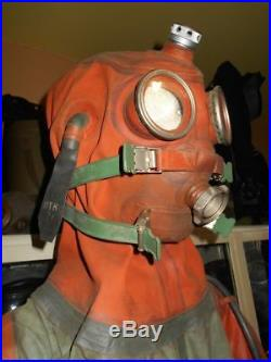 Soviet Military Isp-60 Diving/escape Submarine Dry Suit For Rebreathers Scuba