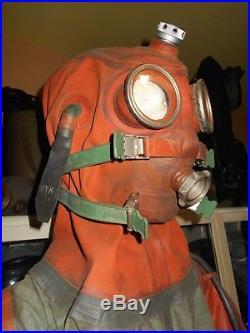 Soviet Military Isp-60 Escape Diving Submarine Suit For Rebreathers Scuba