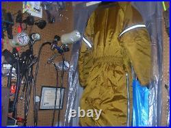 Stearns Men's Size Large 44-46 Dry Suit INSULATION SCUBA DIVING SURVIVAL RESCUE